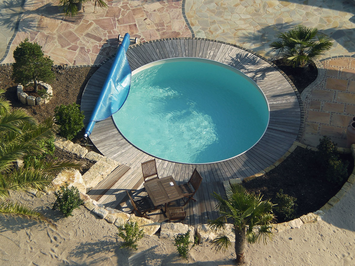 Stahlwandbecken pool konzept for Swimmingpool stahlwandbecken rund