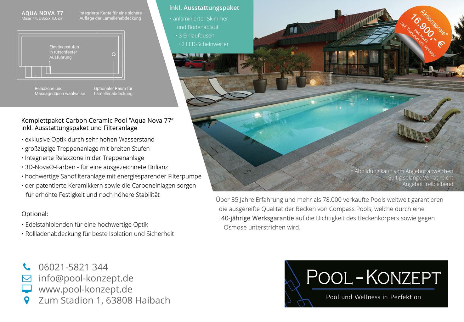 Pool-Konzept – Pool und Wellness in Perfektion